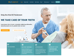 Dental Clinic Joomla Template - LT Dentist