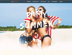 Entertainment Joomla Template  - LT Party