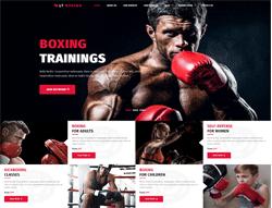 Sport Joomla Template - LT Boxing