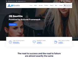 Business Joomla Template - JD Seattle