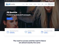 Business Joomla Template - JD Seattle