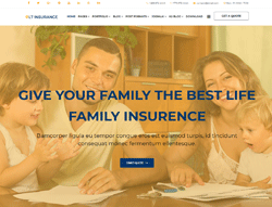 Joomla Insurance Template - LT Insurance