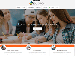 Educational Joomla Template - TD Education