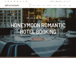 Travel Joomla template - ET Hotel Booking