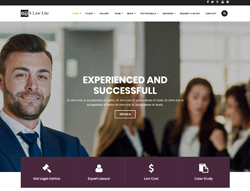 Lawyer WordPress theme - 8Law Lite