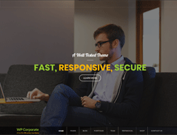 Business WordPress theme - Corporate