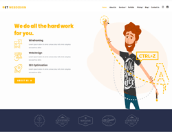 Responsive Web Design WordPress Theme - ET WebDesign