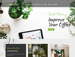 Garden WooCommerce Wordpress theme - WS Plant