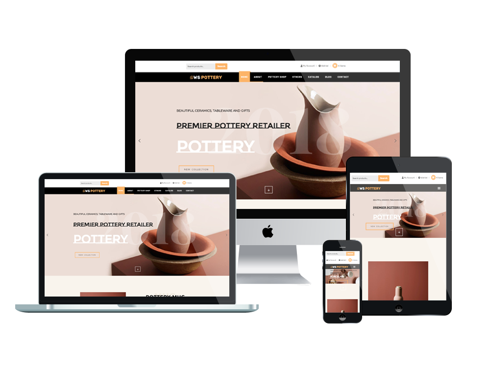 Furniture Wordpress mobile theme