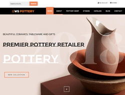 Furniture WooCommerce WordPress theme - WS Pottery