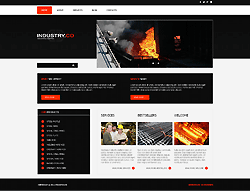 Industrial Joomla Template - 002031
