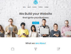 Business WordPress Theme - Business