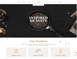 Restaurant Joomla Template - PT Max Coffee