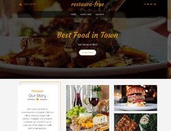 Restaurant WordPress Theme - Restaura