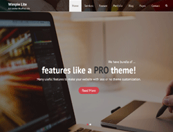Business WordPress Theme - Wimpie Lite