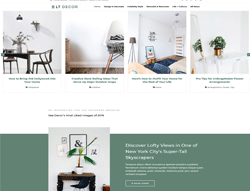 Interior Decorating Joomla Template - LT Decor