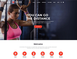 Fitness WordPress Theme - PureGym