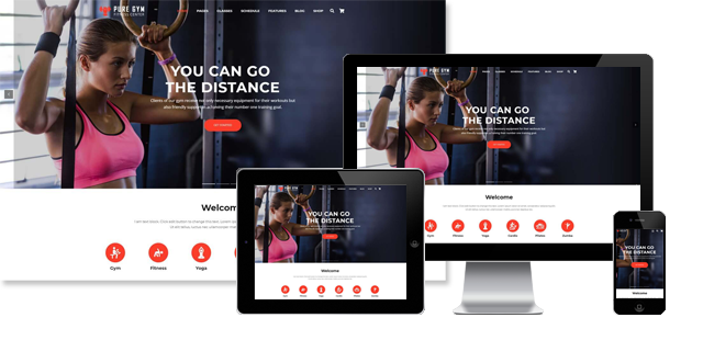 PureGym - Fitness WordPress Theme