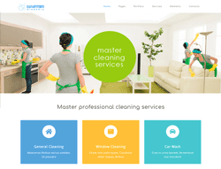 Cleaning Services Joomla Template - PT Cleaners