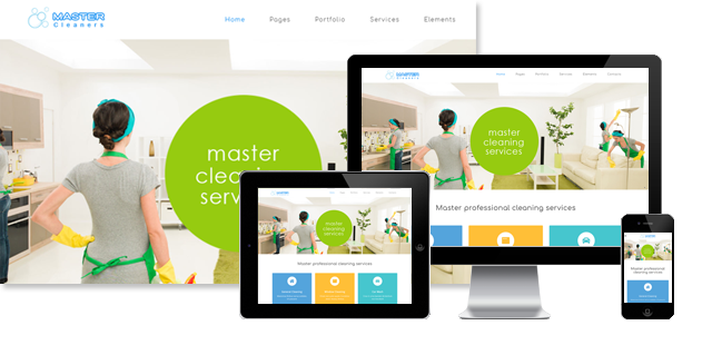 PT Cleaners - Cleaning Services Joomla Template