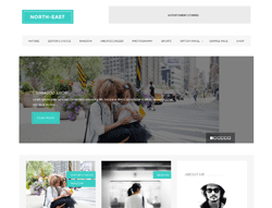 Blog WordPress Theme - North East
