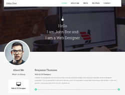 Top Website Template - Resumez