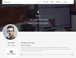 Portfolio HTML Template - Resumez