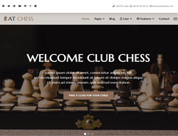 Responsive Chess Joomla Template - AT Chess