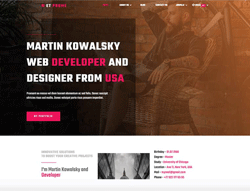 Personal WordPress Theme - ET Prome