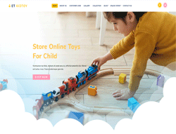 Toys WordPress Theme - ET Kid Toy