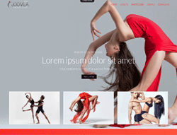 Dancing Joomla Template - Mx_joomla173