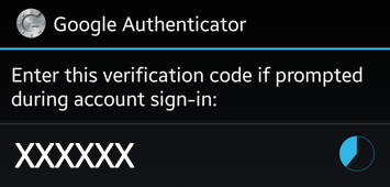 Activate Two Factor Authentication